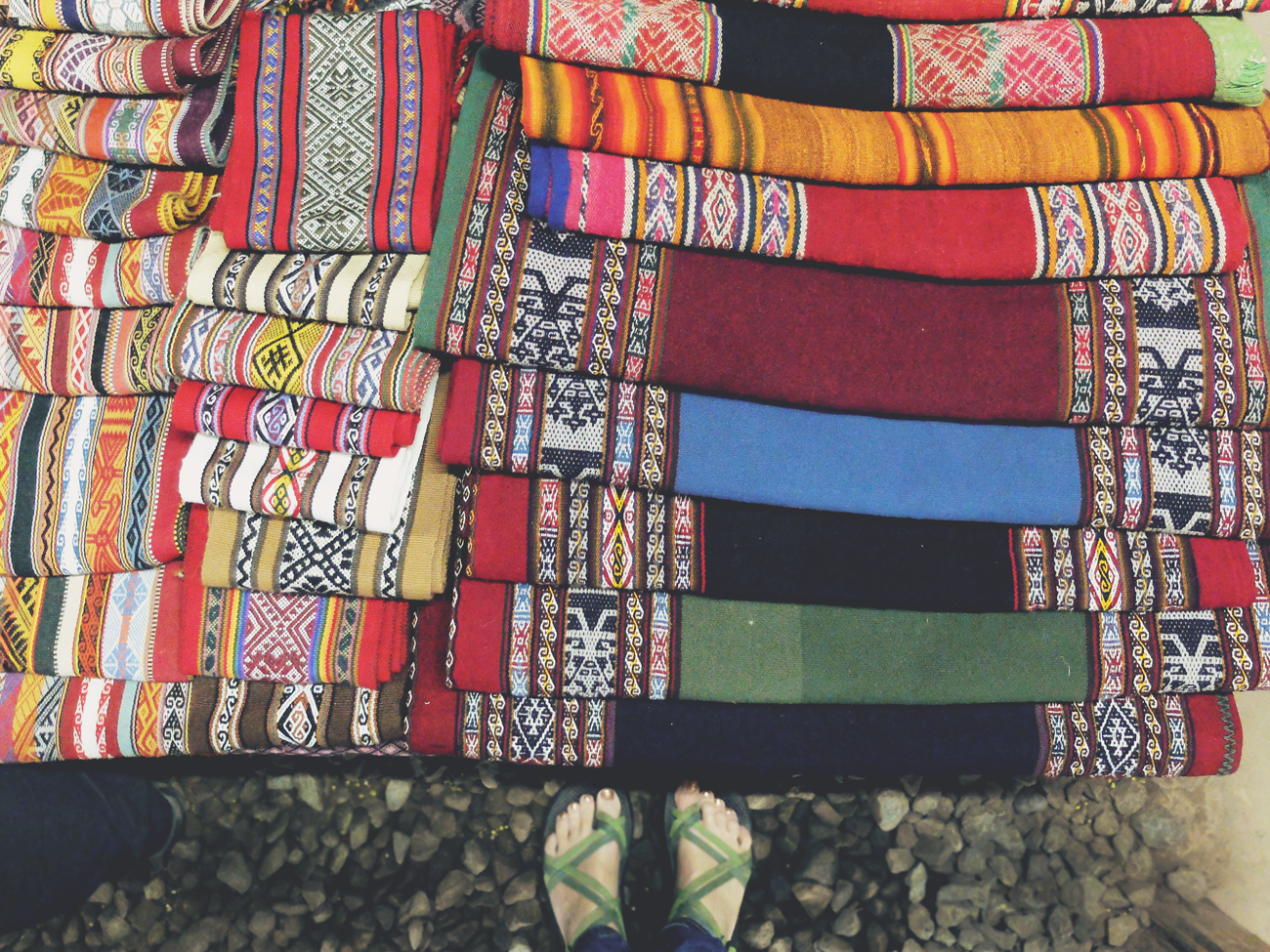 textiles-on-table-above-feet